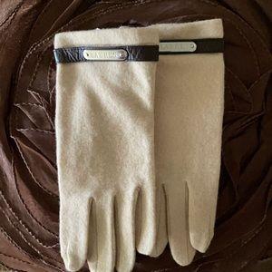 RL beige  gloves